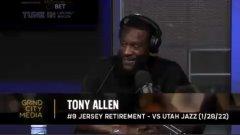 阿伦:退役球衣这是梦想的实现,我很感激